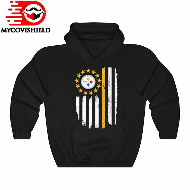 Betsy Ross Flag Edition Pittsburgh Steelers NFL s Hoodie