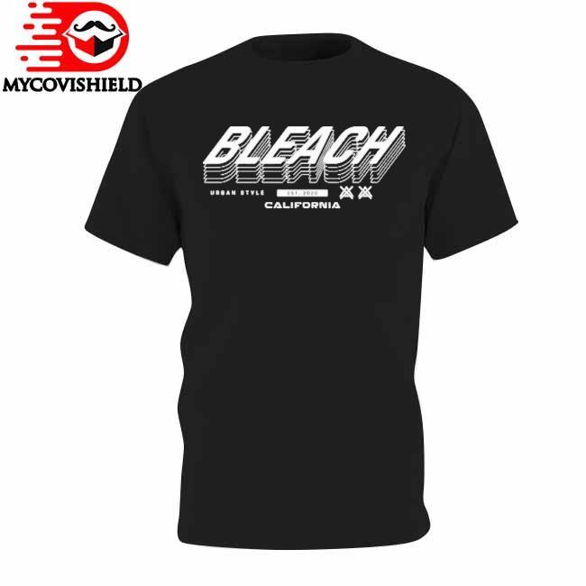 Bleach urban Style est 2020 California shirt
