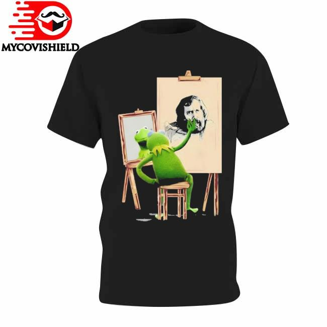 Official Kermit the frog drawing Jim Henson shirt