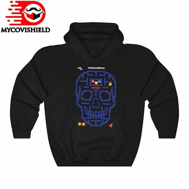 Skull Unidos Mexico Pacman s Hoodie