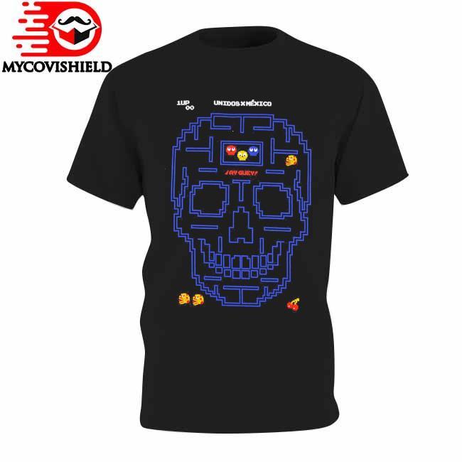 Skull Unidos Mexico Pacman shirt