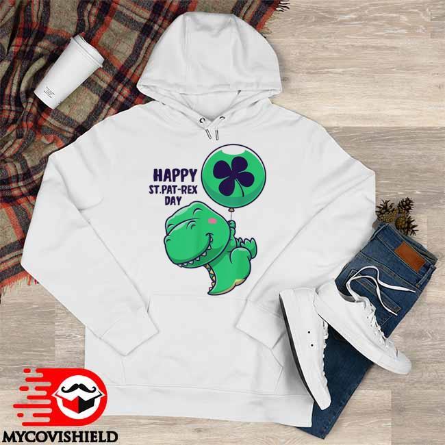 Saint Patrick's Day Flying Dinosaur With Balloon Shirt Hoodie