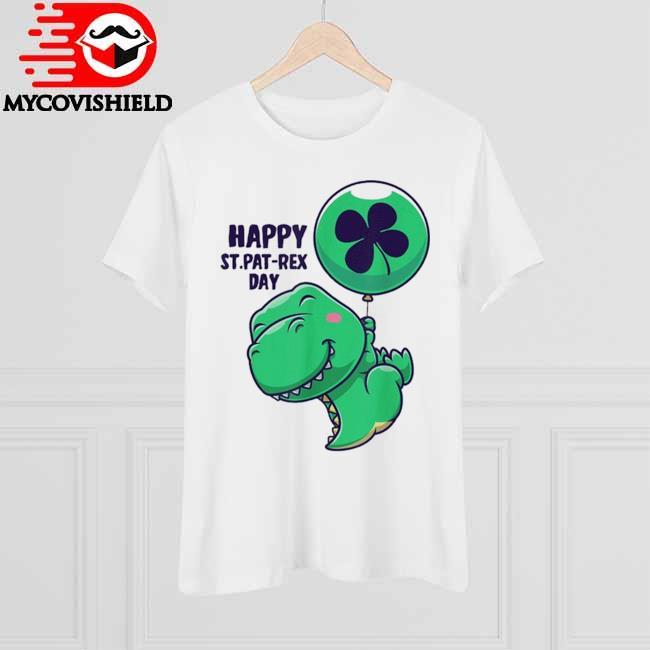 Saint Patrick's Day Flying Dinosaur With Balloon Shirt