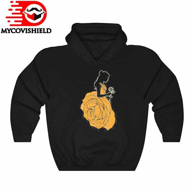 Beauty and the beast belle a rose dress graphic Hoodie