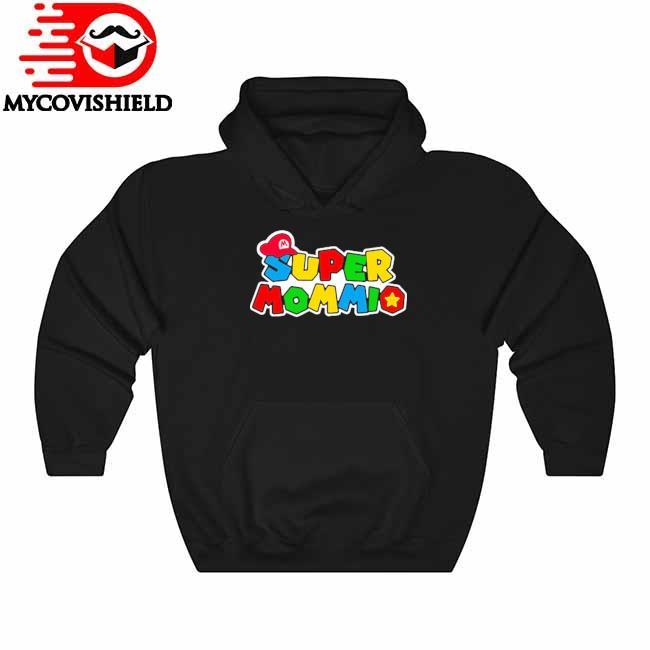 Official Super Mario Super Mommio 2021 Hoodie