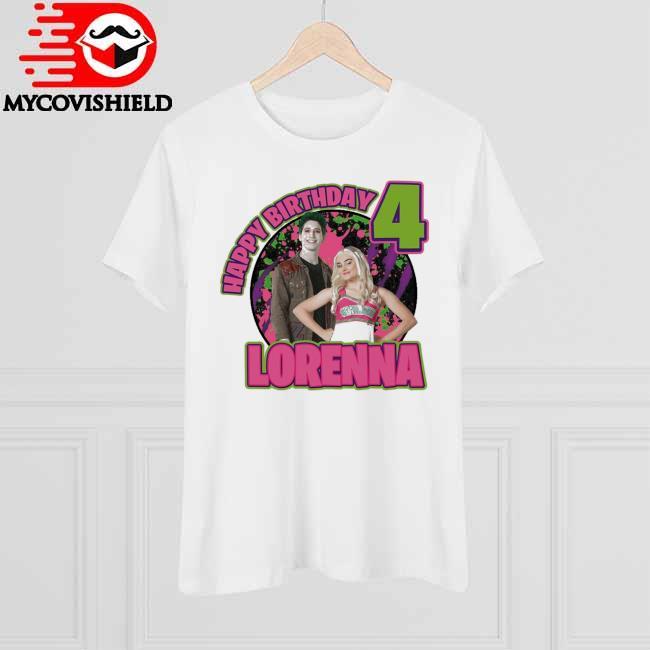 Zombies Happy Birthday 4 Lorenna shirt