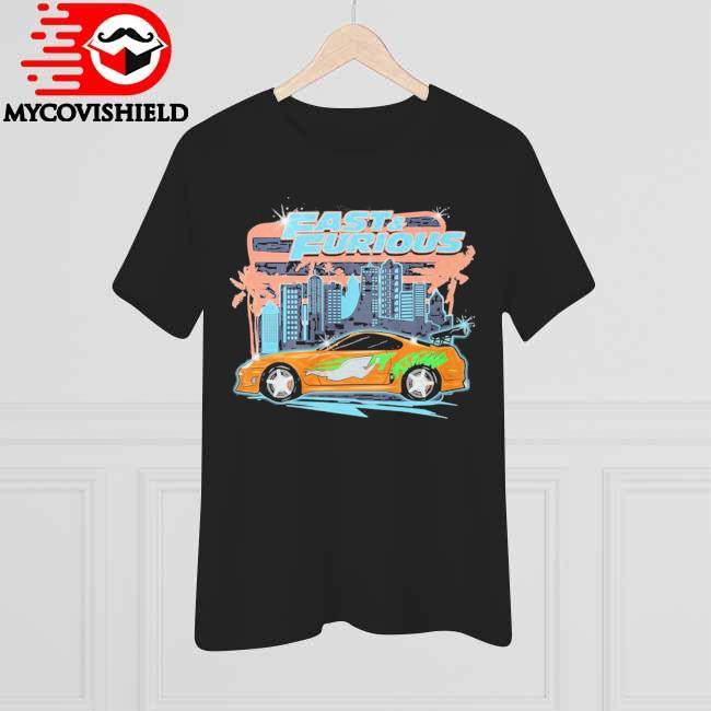 Fast and Furious Car Street T-shirt