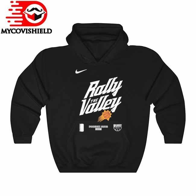 Phoenix Suns Nike Youth 2021 NBA Playoffs Bound Mantra T-Shirt Hoodie