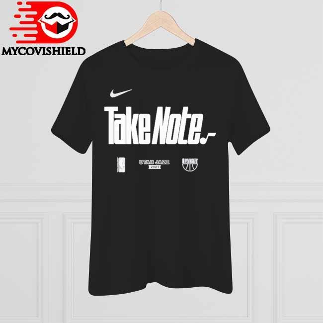 Utah Jazz Nike Youth 2021 NBA Playoffs Bound Mantra T-Shirt